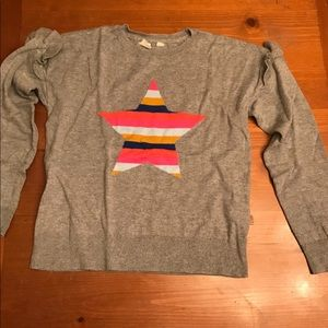 Girls star sweater